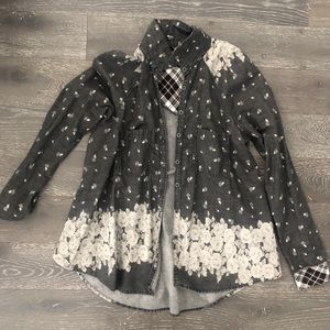 Free People Button Up